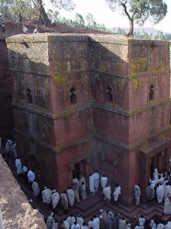 Bet Giyorgis Church In Lalibela Ethiopia King - image 2
