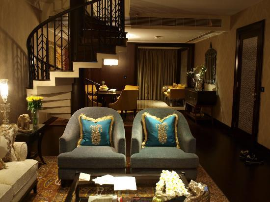 The Leela Palace Udaipur: The plush interiors of the duplex suite