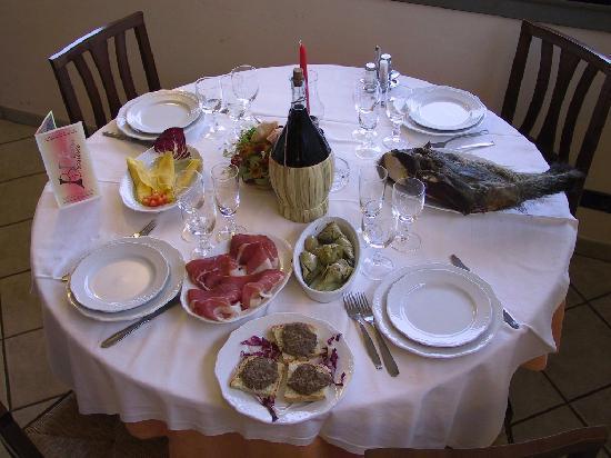 Ristorante Becattini: Typical dishes