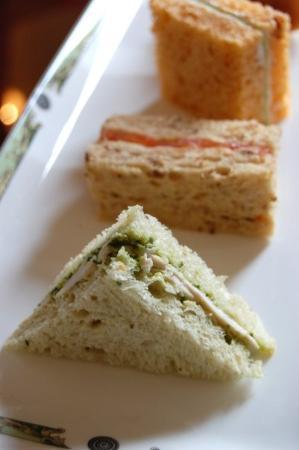 The Merrion Hotel: Tea sandwiches