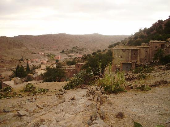 Kerdous Hotel : Le village de Kerdous.