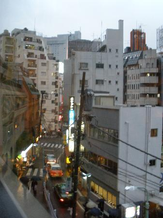 Shibuya Granbell Hotel: view from window