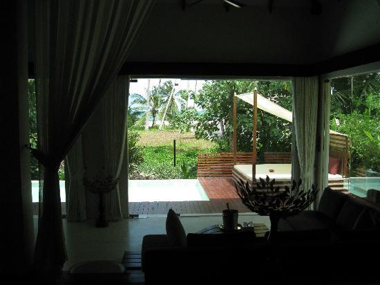 Zara Beach Resort: Blick vom Schlafzimmer