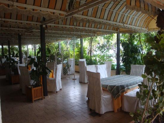 Savana Jardin-Hotel Dakar: breakfast restaurant