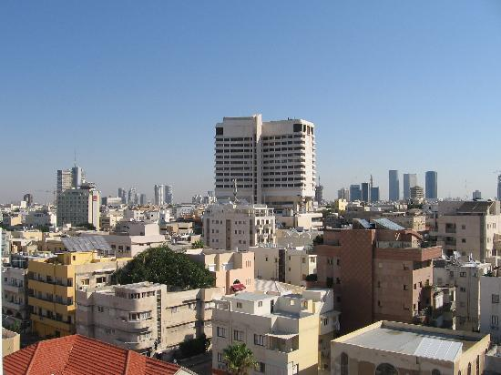 The Savoy Tel-Aviv Sea Side: The city view from my room balcony