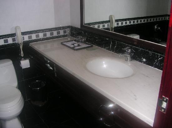 Jincheng Jinjiang International Hotel : ホテル内トイレバスユニット