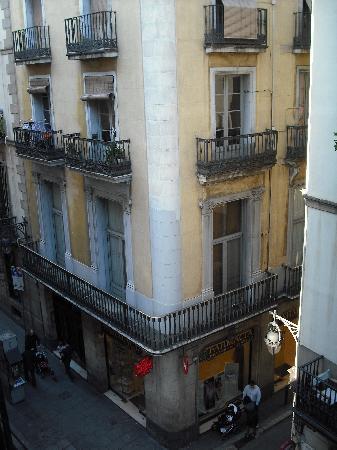 Pension Segre: vue du balcon