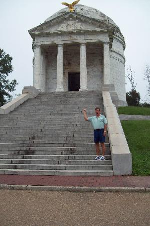 Vicksburg, MS: Illinois monument