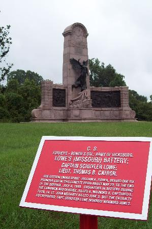 Vicksburg, MS: Our state monument