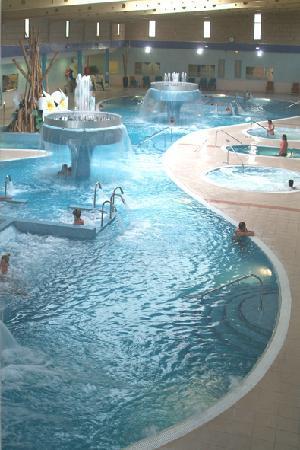Aqua Club Termal: foto panoramica del circuito termal