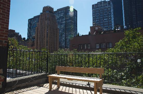 Living Manhattan: terrace
