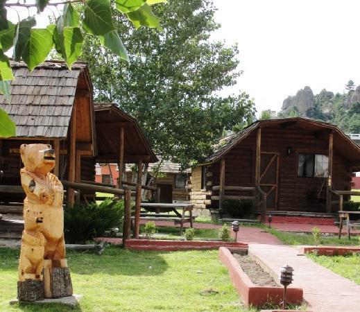 Hotel Villa Mexicana at Creel: excelentes cabanas...