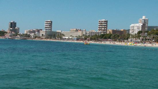Magaluf, Spania: beautiful beach