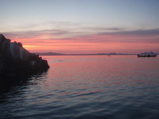 Las Cabanas de Loreto: Sunrise