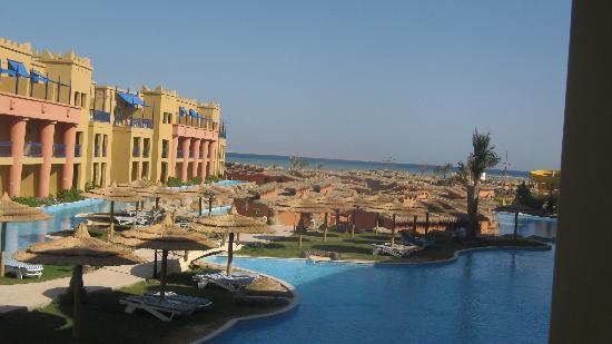 Titanic Beach Spa & Aqua Park: zimmeraussicht