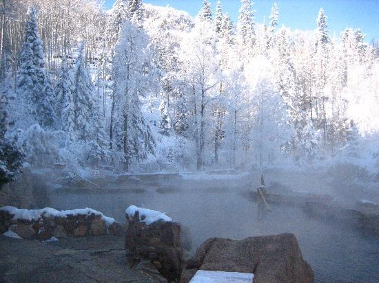 Strawberry Park Natural Hot Springs: hot springs