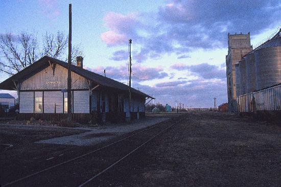 Kadoka's Milwaukee Road Depot - Don Hall photo