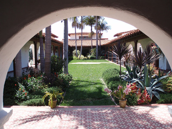 San Clemente, CA: the entrance