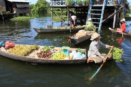 Happy Angkor Wat Tour: Floating village