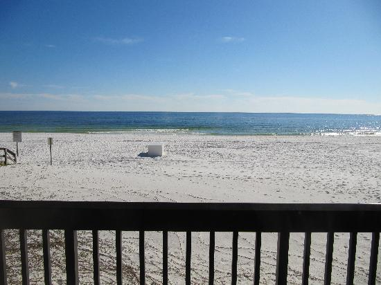 Hampton Inn Ft. Walton Beach: View from our balcony