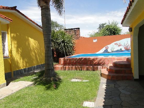 Atlántida, Uruguay: Part of garden/Teil des Gartens