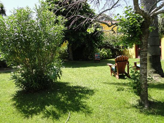 Atlántida, Uruguay: The garden is an oasis after a long day