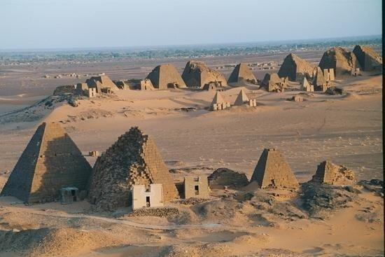Sudán: Marawi pyramids