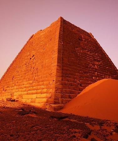 Sudán: Sudan pyramids