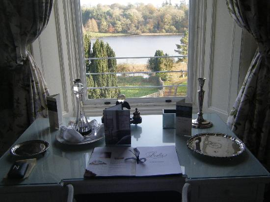 Castle Leslie Estate: room with a view