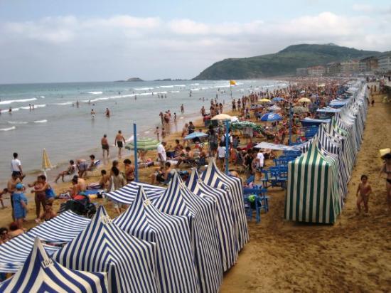 Zarautz, Espagne : Platja de Zarrautz