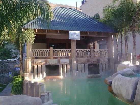 Balneario Baño Grande En Mixquiahuala:Santa Maria Amajac Hidalgo Mexico