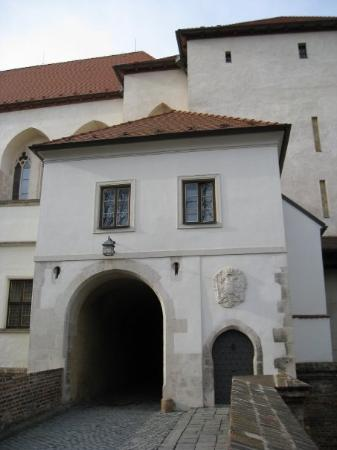 Spilberk Castle: Entrance in fortress