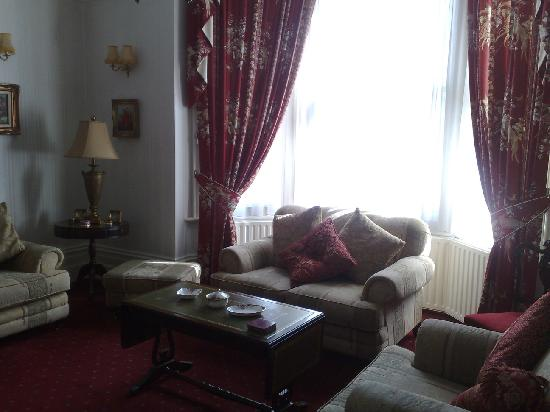 Beulah House: living room
