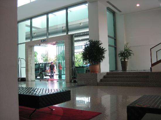 Sibu, Malasia: entrace in the hotel