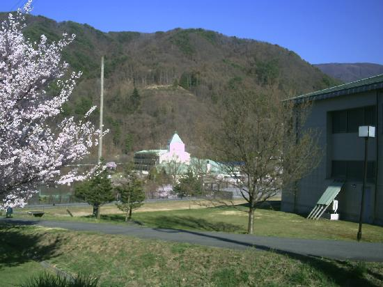 Takato Sakura Hotel : ホテル遠景