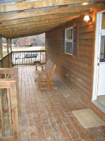 Camp Carlson Army Recreational Area: Front Porch