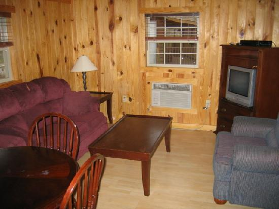 Camp Carlson Army Recreational Area: Living Room
