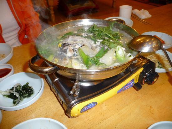 Haenyeo : コースの鍋