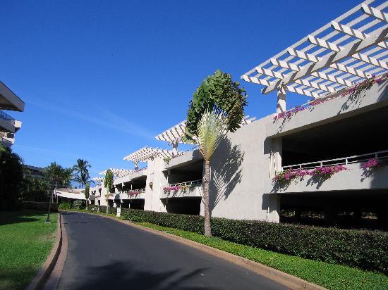 Maui Banyan Vacation Club: Parkade