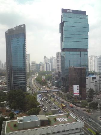 Mandarin Oriental, Jakarta: view from room