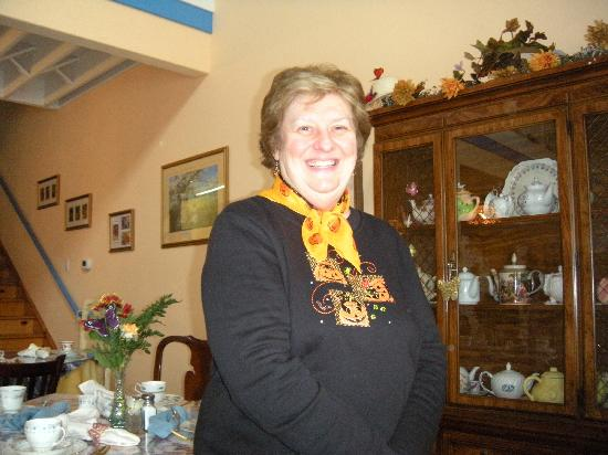 The Owner of the Butterfly Tea Room