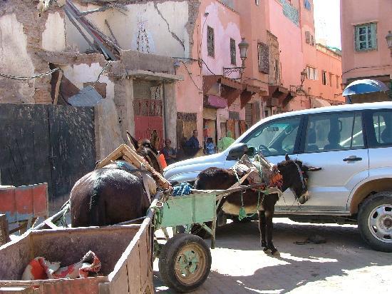 Riad Ennafoura : Y aller en voiture n'est pas simple.