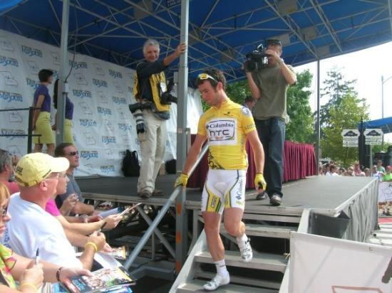 Farmington, MO: Mark Cavendish at Tour of Missouri 2009 bike race