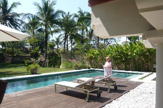 Jimbaran Alamanda Villa: private pool