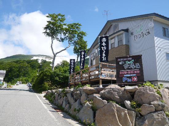 Lodge Yatsunami: 7月1日夏山開き以降に始まる館主の手打ちそばがうまい!
