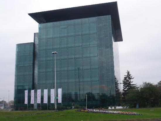 Office building opposite Hotel Fala