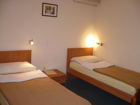 Twin-bed room in Hotel Fala
