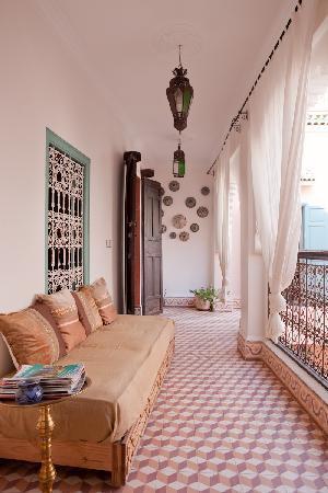 Riad Nakhil : Suite Rubis - Couloir