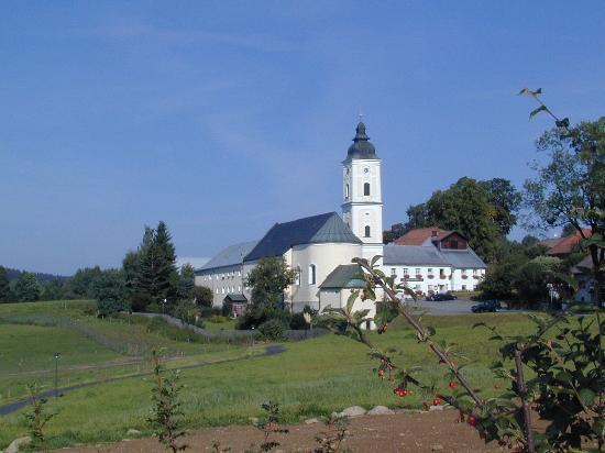 Riedlhütte, Deutschland: ehemalige Klosterkirche Sankt Oswald