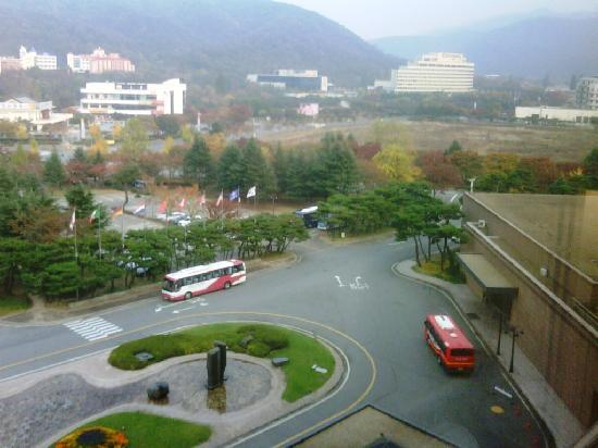 Hilton Gyeongju: view from room1